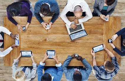 People-working-with-mobile-devices-and-computers-multichannel